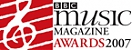 BBC Music Magazine Awards 2007: Disc of the Year & Vocal Award Winner