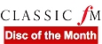 Classic FM 'Disc of the Month'